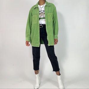 1990's Vintage Corduroy Zip Up Jacket